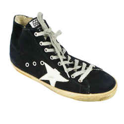 Golden Goose<br>Navy Francy Sneakers<br>Size: 10 | EU 40