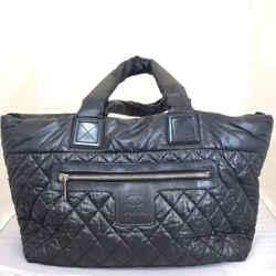Chanel Nylon Coco Cocoon Quilted Hobo Handbag