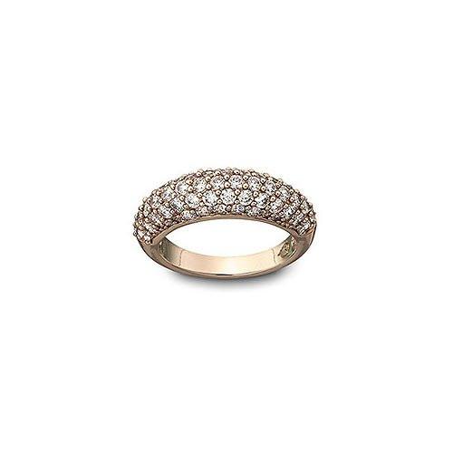 Swarovski Maeva White Ring, Rose Gold Plated (Size 52) (1062734)