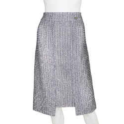 Chanel | Sequin Tweed Skirt