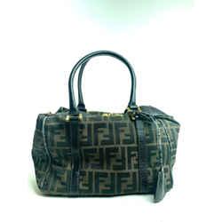 Fendi Gg Monogram Zucca Buckle Bag 15ffa63