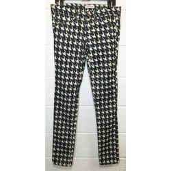 toile Isabel Marant Houndstooth Pants Straight Leg Jeans Size: 29 (6, M) Length: Regular