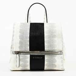 Givenchy Small Pandora Pure Watersnake Shoulder Bag