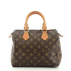 Speedy Handbag Monogram Canvas 25
