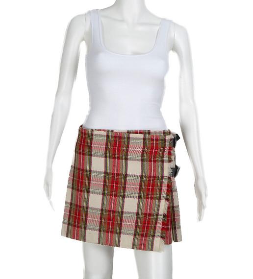 Burberry Plaid Skirt
