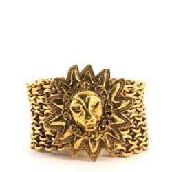 Sunburst Lion Head Bracelet Metal
