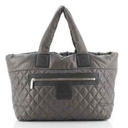 Coco Cocoon Zipped Tote Quilted Nylon Medium