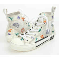 Christian Dior B23 Dior And Kenny Scharf High-Top Sneakers