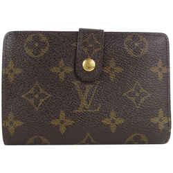 Louis Vuitton Monogram Kisslock Wallet Porte Monnaie Viennois Wallet 11lvs18