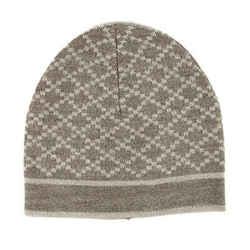 Gucci Unisex Beige Wool Diamante Beanie Hat 281600 9878
