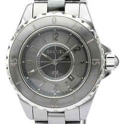 CHANEL J12 Chromatic Titanium Ceramic Quartz Ladies Watch H2978 BF518924