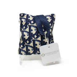 Christian Dior Blue and Ivory Print Silk Lavender Sachet