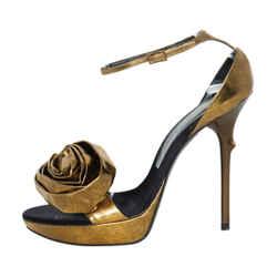 Roger Vivier Metallic High-heel Sandals