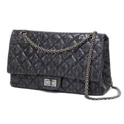 Chanel Jumbo Pin Stripe Rayures Classic Double Flap Reissue 239715