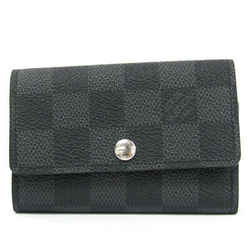 Louis Vuitton Damier Graphite 6 Key Holder N62662 Men's Damier Graphite BF515055