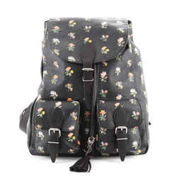 Festival Backpack Printed Leather Medium