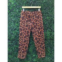 Dolce & Gabbana Size 8 Giraffe Print Pants