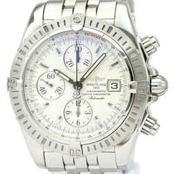 Polished BREITLING Chronomat Evolution Steel Automatic Watch A13356 BF534601