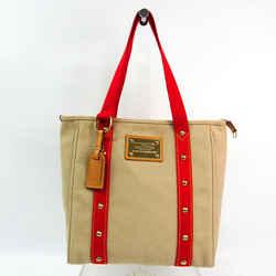 Louis Vuitton Antigua Cabas MM M40035 Women's Tote Bag Beige,Red Color BF523732