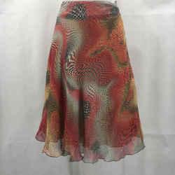 Akris Punto Red Midi Skirt 12