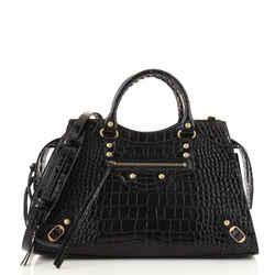 Neo Classic City Bag Crocodile Embossed Leather Medium
