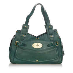 Vintage Authentic Mulberry Green Smithfield Leather Shoulder Bag United Kingdom