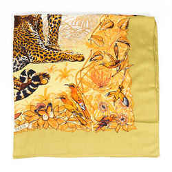 Hermes Jungle Love Multicolor Shawl Scarf