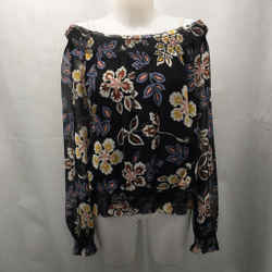 Tory Burch Black Floral Blouse 12