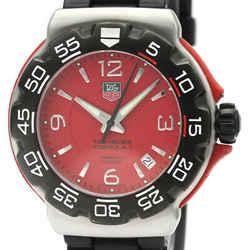 Tag Heuer Formula 1 Quartz Stainless Steel Men's Sports Watch WAC1113 FVGZ000148