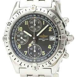 Polished BREITLING Chronomat Longitude Steel Automatic Watch A20048 BF529977
