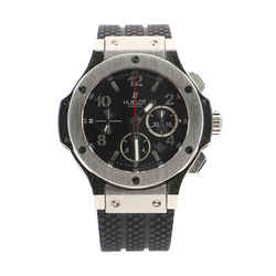 Big Bang Chronograph Automatic Watch Stainless Steel and Rubber 44