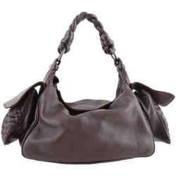 Bottega Veneta Cervo Hobo Bags Brown One Size Authenticity Guaranteed