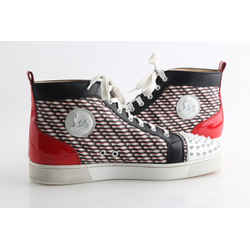Christian Louboutin Multicolor - Red, Black, White Sneakers