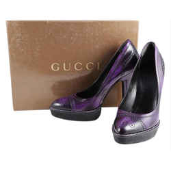 Gucci Purple Pumps