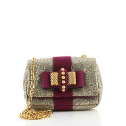 Sweet Charity Crossbody Bag Glitter Leather Mini