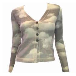 Moschino 1990's Wool Cloud Sweater