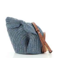 Rabbit Crossbody Bag Raffia Mini