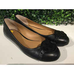TORY BURCH BLACK FLATS | 7