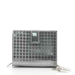 Eden Wallet Micro Cannage Perforated Calfskin Small
