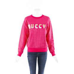 Gucci Guccy Sega Stars Pink Sweatshirt SZ XXS