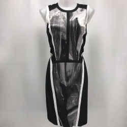 Helmut Lang Black Sleeveless Dress 6