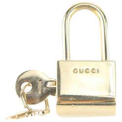 Gucci Gold Logo Padlock Cadena and Key Lock 916gk93