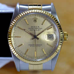 Rolex Datejust Champagne Dial Fluted 36mm Watch-ALL FACTORY