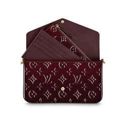 Louis Vuitton Monogram Vernis Pochette Felicie Crossbody Chain Flap w Inserts 860302