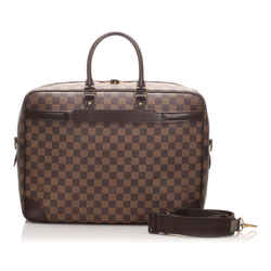 Vintage Authentic Louis Vuitton Brown Damier Ebene Porte-Documents Voyage France