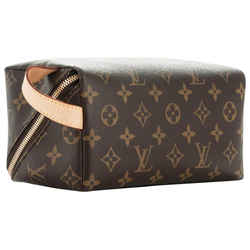 Louis Vuitton Carre Shoe Care Kit Toiletry Cosmetic Travel Pouch 857099