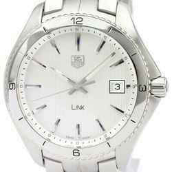 Polished Tag Heuer Link Stainless Steel Quartz Mens Watch Wat1111 Bf339293
