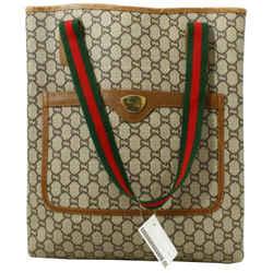 Gucci GG Monogram Web Sherry Tote  861406