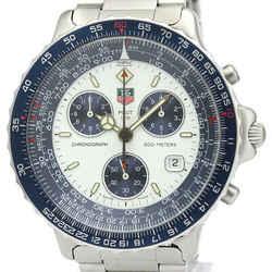 TAG HEUER Pilot Chronograph Steel Quartz Mens Watch 530.806 BF519000