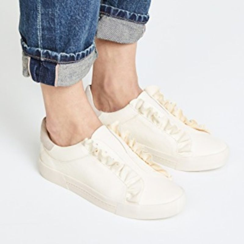 Joie Daw Ruffle Leather Slip-On